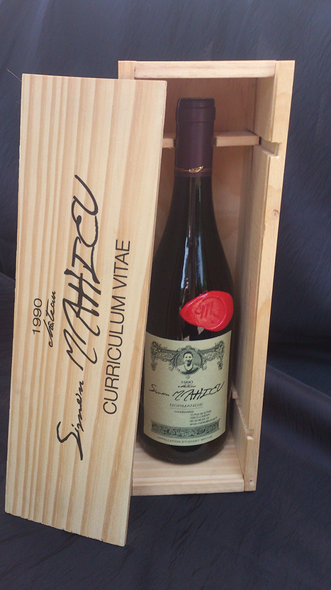 Un CV à boire ? Il envoie son curriculum vitae sur l'étiquette d'une bouteille de vin - Bourgogne Live | Le vin quotidien | Scoop.it