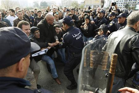Algeria police use tear gas on protest in capital | Coveting Freedom | Scoop.it