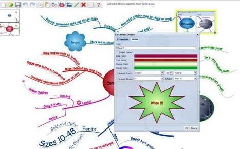 Une application Chrome pour dessiner des cartes mentales, Connected Mind | Ballajack | Time to Learn | Scoop.it