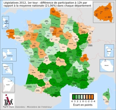 Législatives 2012 1er tour : le Live OpenData des résultats reprend ... | PirateBox et OpenData | Scoop.it