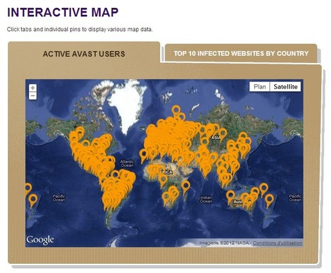 Interactive Maps of Infected Websites | Technology and Education Resources | Scoop.it