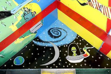 Art students add murals to neighborhood structure - The New Orleans Advocate | Student Artists | Scoop.it