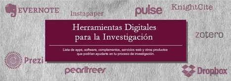 Herramientas digitales para la investigación  | ED|IT| | Scoop.it