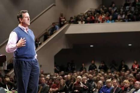 Rick Santorum is een enge reli-extremist - BNR Nieuwsradio   ronaldoliekanvanos.nl   Scoop.it