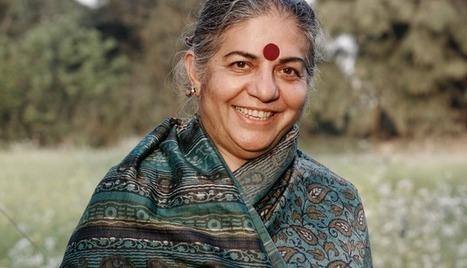 Vandana Shiva : « Sauver les graines, c'est sauver notre liberté »   Confidences Canopéennes   Scoop.it
