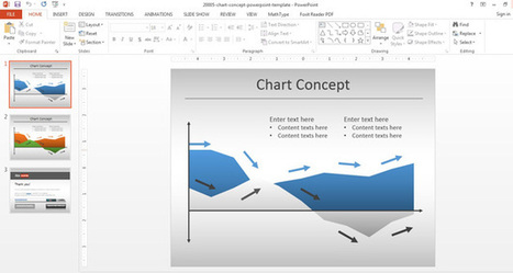 Free Area Chart PowerPoint Template | Free Templates for Business (PowerPoint, Keynote, Excel, Word, etc.) | Scoop.it