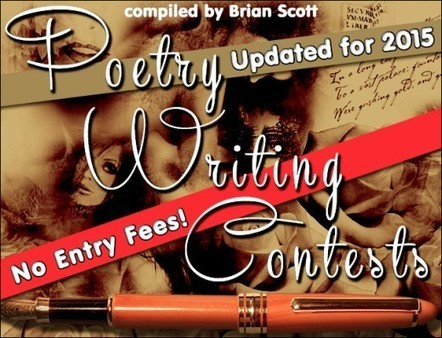 Poetry Writing Contests with No Entry Fees (for 2015) | Publish Poetry | Scoop.it