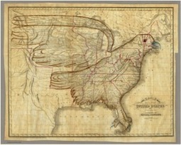 Partenariat entre la collection de Cartes Historiques de David Rumsey et la DPLA « Digital Public Library of America » | Nos Racines | Scoop.it