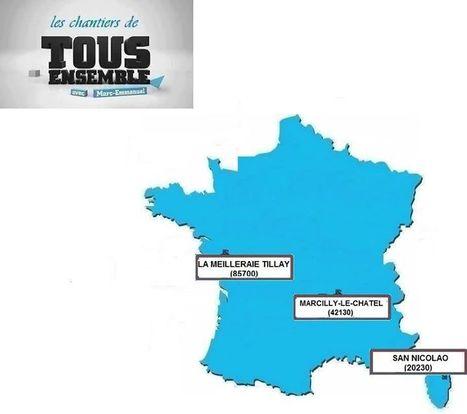 TOUS ENSEMBLE : chantier solidaire à Marcilly-le-Châtel (42130) => Cliquez pour + d'infos ! | Tout Ce Qui Se Passe Près De Chez Moi .fr | Scoop.it