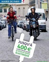 Deux roues électriques – Paris reconduit l'aide à l'achat pour 2014 | Actus Motos et 2 roues | Scoop.it