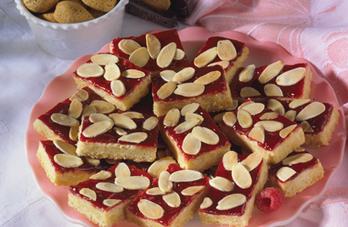 Raspberry-Almond Cookies Recipe - Diabetic Gourmet Magazine - Diabetic Recipes | Cookie Making Day Recipes | Scoop.it