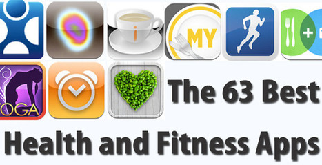 The 63 Best Health & Fitness Apps | In The Classroom | Scoop.it