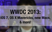 WWDC 2013 roundup: iOS 7, OS X Mavericks, new Macs, & more! [VID] | All Things Mac | Scoop.it