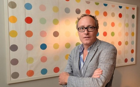 Spot of bother over Damien Hirst wall art paining - Telegraph.co.uk | Decoupage | Scoop.it