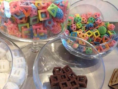Twitter / SciencePorn: 3D printed candy because science ... | CLOVER ENTERPRISES ''THE ENTERTAINMENT OF CHOICE'' | Scoop.it