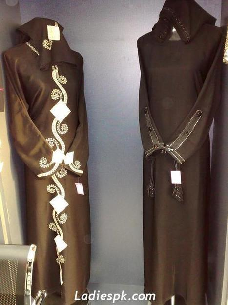 Abaya Burqa Burkha Burka or Burqu Design Style Fashion 2013 ...   RichDubai   Scoop.it