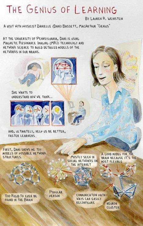 "An Illustrated Look Inside MacArthur ""Genius"" Danielle Bassett's Neurology Lab 