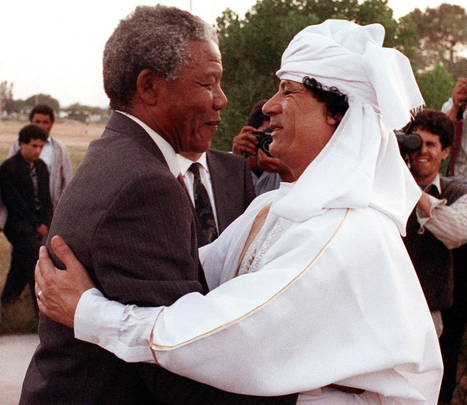 Mandela and Qadhafi: Brother Leaders | Saif al Islam | Scoop.it
