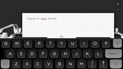 Tom Hanks just released a typewriter app for iPad | PUHELINVAIHDE | Scoop.it