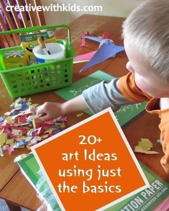 Make Creating with Kids Easy by Gathering This Basic Kit | Learn through Play - pre-K | Scoop.it