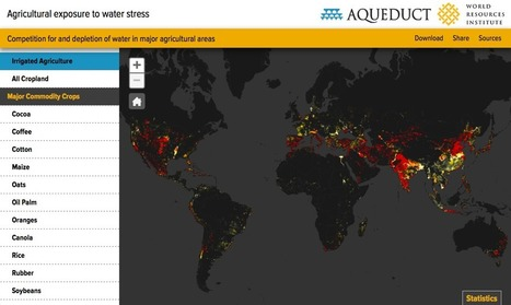 One-Quarter of World's Agriculture Grows in Highly Water-Stressed Areas | World Resources Institute | FOOD TECHNOLOGY  NEWS | Scoop.it