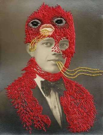 Oddly Embroidered Portraits | Arte y Fotografía | Scoop.it