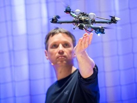 TED Talk : La asombrosa potencia atlética de los cuadricópteros. | Electronic Engineering - Robotic | Scoop.it
