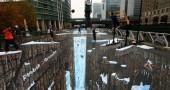 La più grande opera di street art 3D del mondo   WEBOLUTION!   Scoop.it