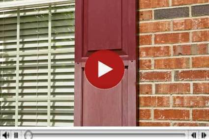 How To Video-Restoring Vinyl Shutters | Vinyl Shutter Restoration | Scoop.it