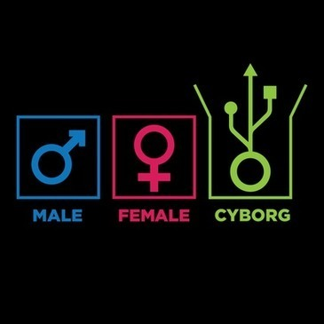 Gender Identification - Male, Female, Cyborg @ That Awesome Shirt! | DigitAG& journal | Scoop.it