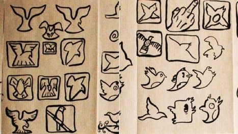 Twitter's Bird Logo Was Inspired By a Middle Finger | All Geeks | Scoop.it