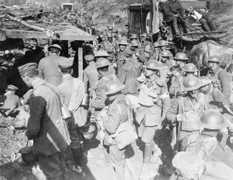 Today Canada joined in the start of the First World War   HEMEROTECA   Scoop.it