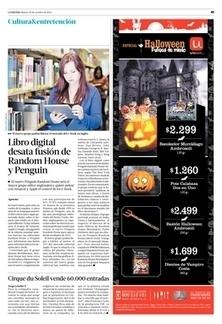 Libro digital desata fusión de Random House y Penguin - Latercera | Literatura y contemporaneidad | Scoop.it