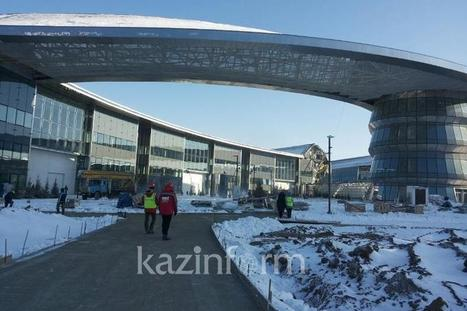 Construction incident not to affect EXPO 2017 image - Kazakh FM - 11/17/16 | CASPIAN BUSINESS MONITOR | Scoop.it