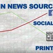 Το 51% των χρηστών του Διαδικτύου ενημερώνεται από τα social media | Information Science | Scoop.it