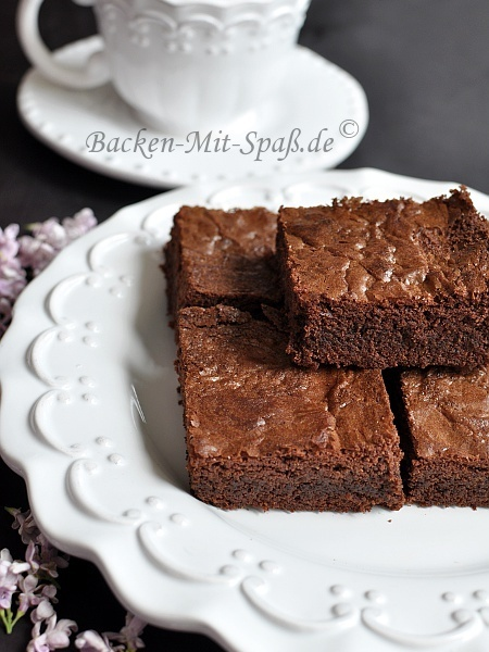 Rezept für Brownies | Backen mit Spass - Kuchen, Torten, Kleine Gebäcke - Rezepte für jeden Anlass | Brownies, Muffins, Cheesecake & andere Leckereien | Scoop.it