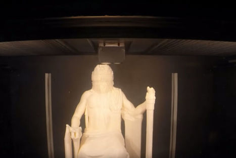 [REVUE DE PRESSE] L'impression 3D redonne vie à des œuvres d'art disparues - L'industrie c'est fou | Clic France | Scoop.it