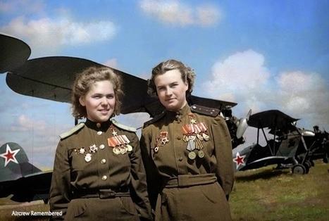 Soviet 'Night Witches' Pilots   World at War   Scoop.it