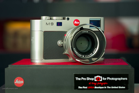 Leica M9 Titanium limited edition now shipping | Photography Gear News | Scoop.it