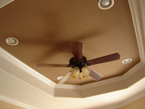 How To Decorate A Small Room with Ceiling Fans for Low Ceilings | Air Circulation and Ceiling Fans | Scoop.it