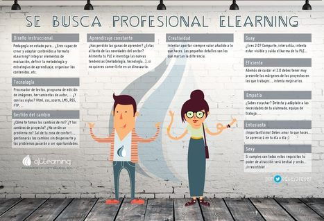 Se busca profesional de e-learning | Era Digital - um olhar ciberantropológico | Scoop.it