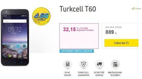 Turkcell T60 Özellikleri | ECANBLOG | Scoop.it