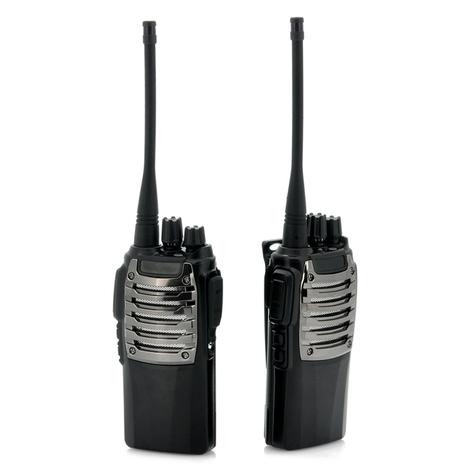 Long Range Walkie Talkie Set with Calling Function (3 - 5 KM Range, UHF, 220V) | cool electronics gadgets | Scoop.it