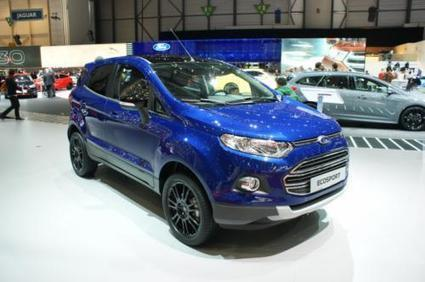 Ford Launches the EcoSport Facelift in Geneva - SpeedLux | Technology | Scoop.it