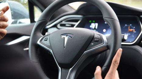 Tesla Model S :  notre test du pilotage automatique | Libertés Numériques | Scoop.it