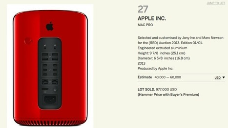 Sold! Red Mac Pro for $977,000 | Digital-News on Scoop.it today | Scoop.it