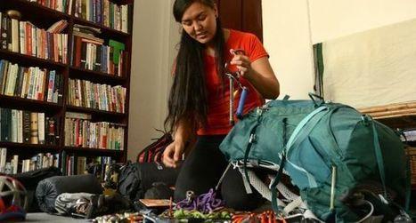 Au Népal, des femmes alpinistes ouvrent la voie des sommets à une nouvelle génération | Montagne et Tourisme d'Aventure | Scoop.it