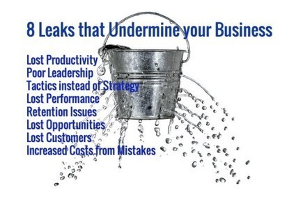 """Are these 8 """"Leaks"""" undermining your Business Success? - Activate Group, Inc 