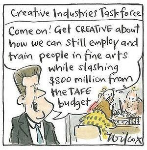 Twitter / TAFECampaign: Great #TAFE cartoon in the ... | Let's keep the NSW Coalition government accountable on the Northern Tablelands. | Scoop.it