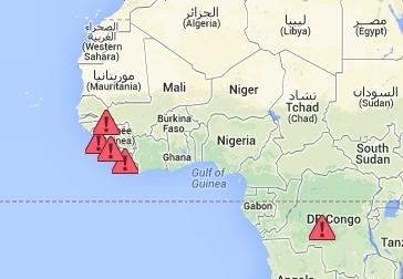 Ebola: voici les zones à éviter en Afrique   Toxique, soyons vigilant !   Scoop.it